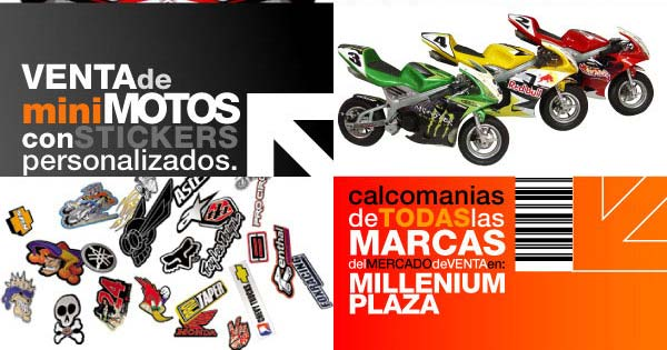 Imagenes Calcomanias Para Motos